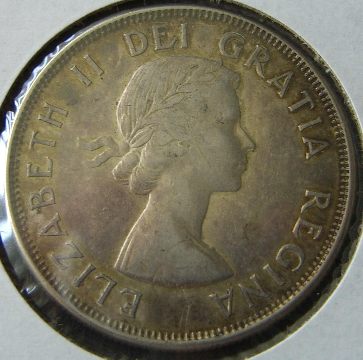 Steve S Coins Canadian 50 Cent Pieces