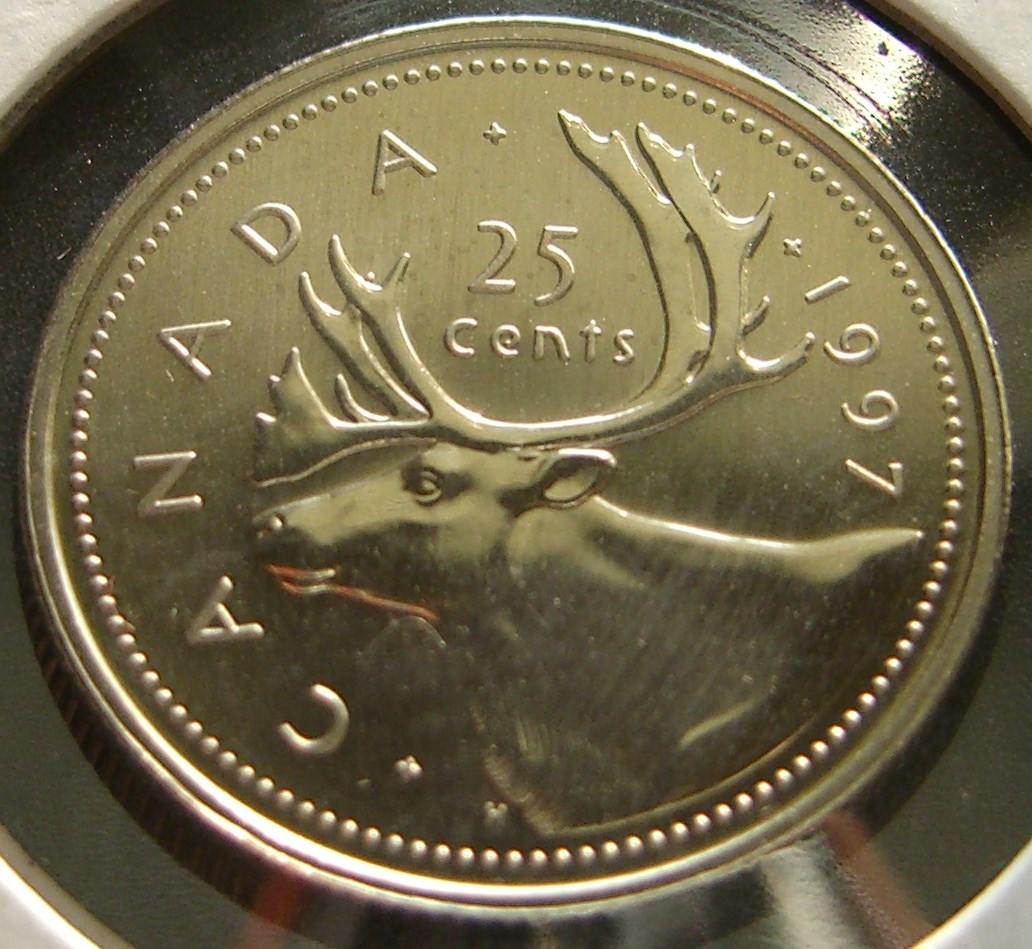 Worksheet Canadian Quarters steves coins canadian quarters quarter canada did not mint any 1997 for circulation but it some sets and specimens has a caribou on the